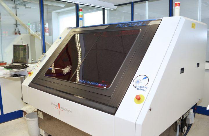 Zweite Laseranlage Picodrill in Kürze verfügbar